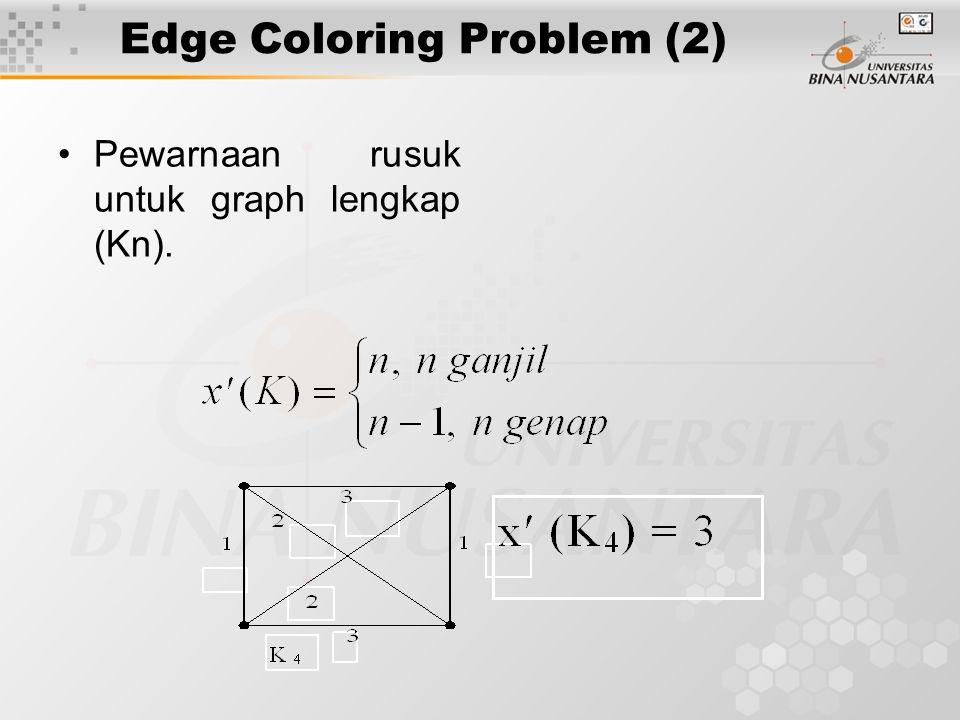 Edge Coloring Problem (2)