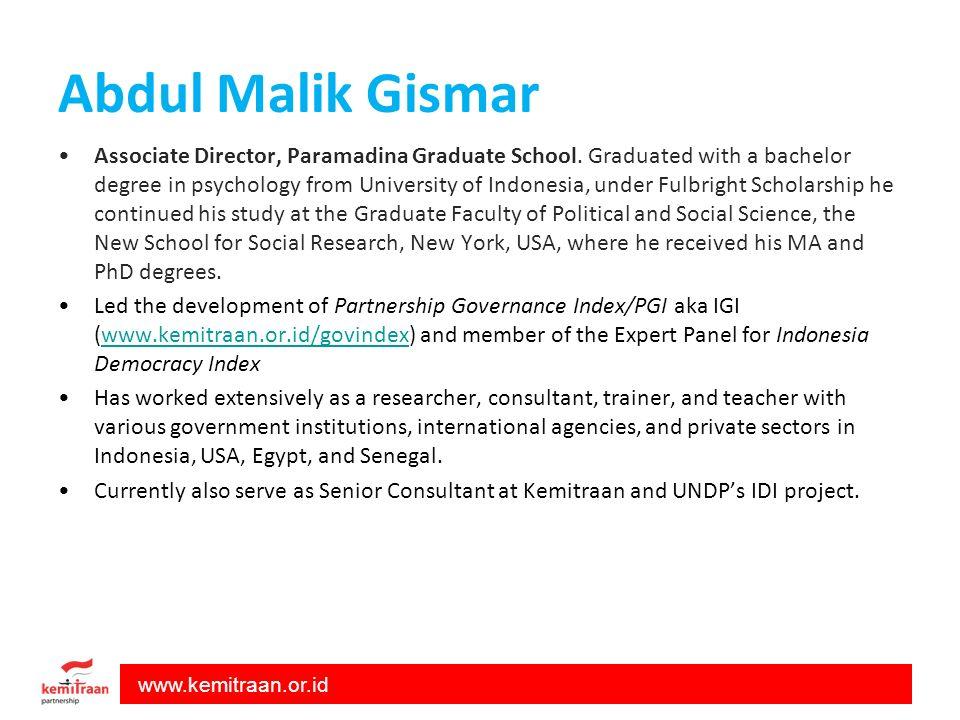 Abdul Malik Gismar