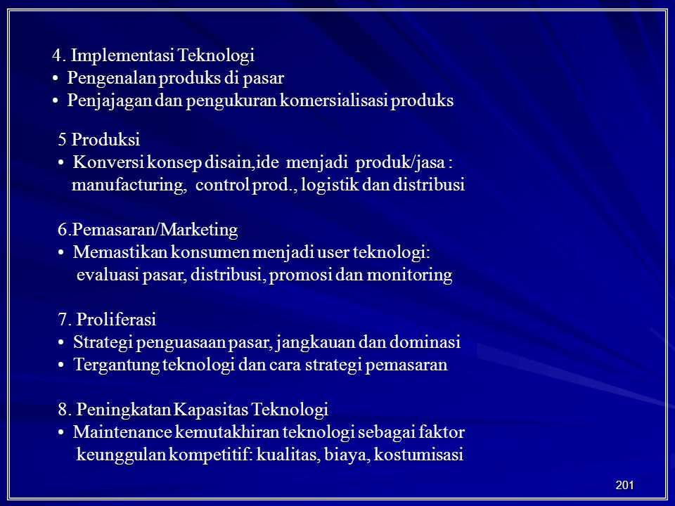 4. Implementasi Teknologi