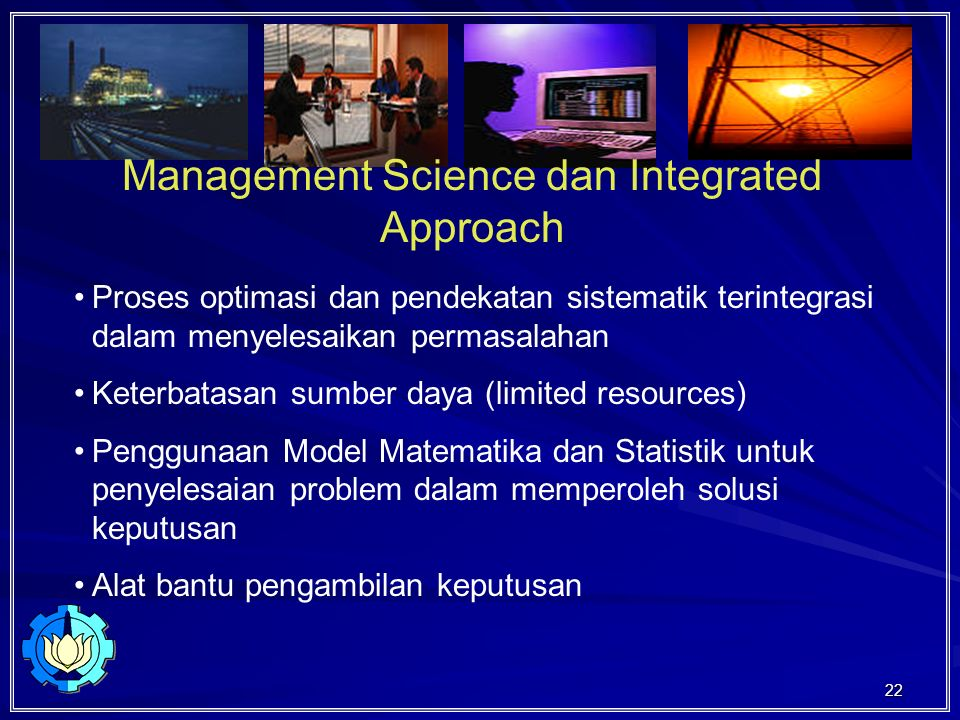 Management Science dan Integrated Approach