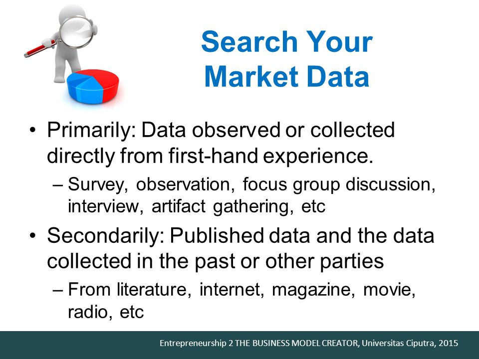 Search Your Market Data