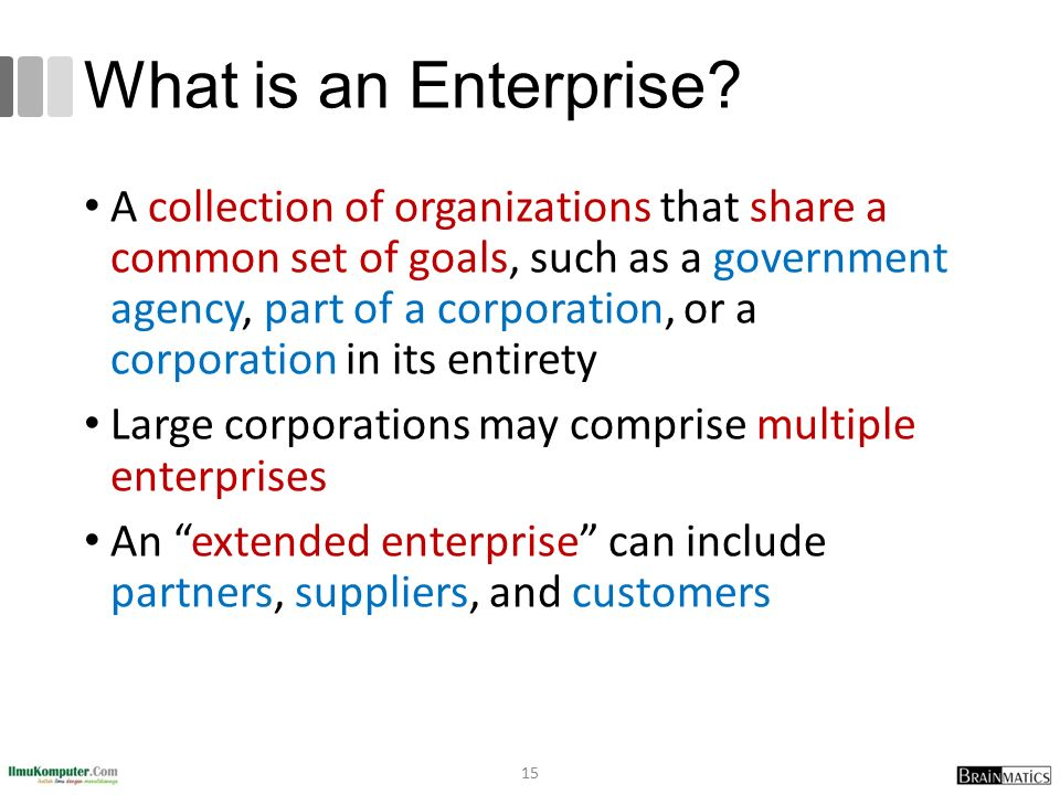 What is an Enterprise