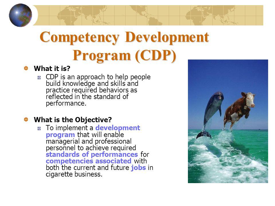 Competency Development Program (CDP)