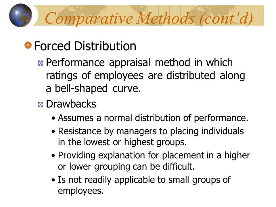 Comparative Methods (cont'd)