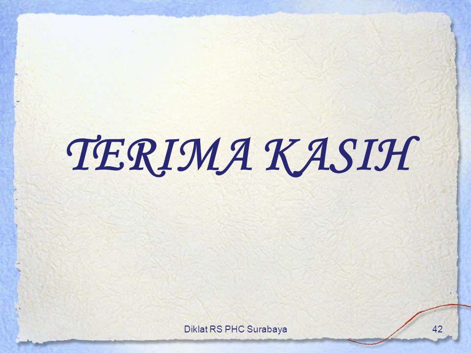 TERIMA KASIH Diklat RS PHC Surabaya