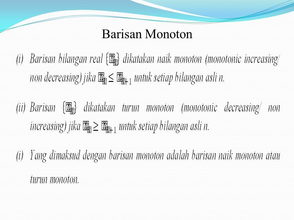 Barisan Monoton
