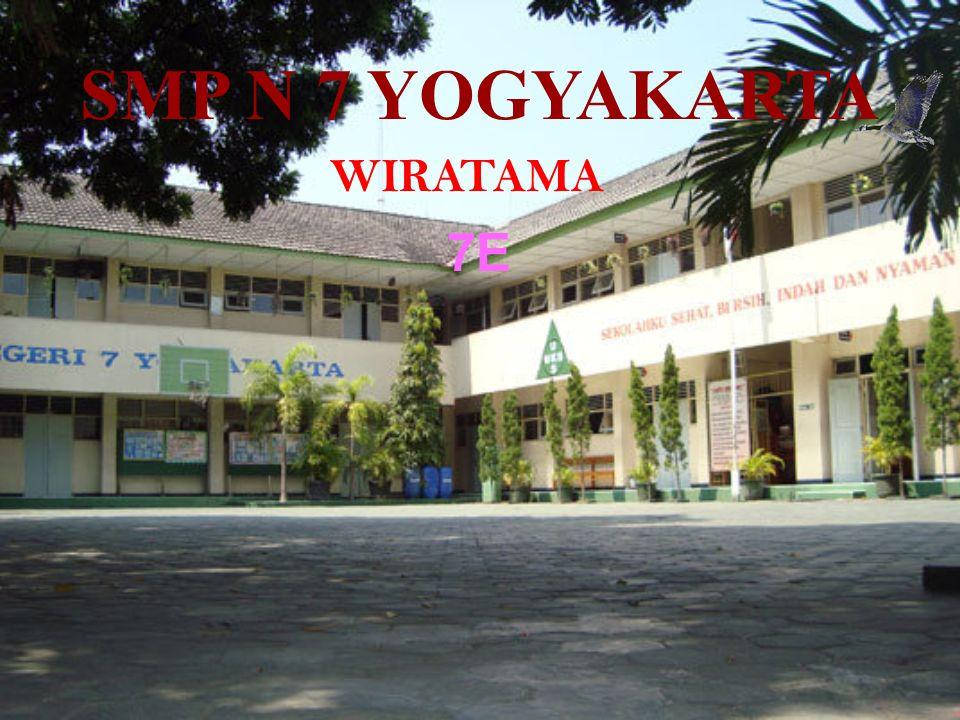 SMP N 7 YOGYAKARTA WIRATAMA 7E