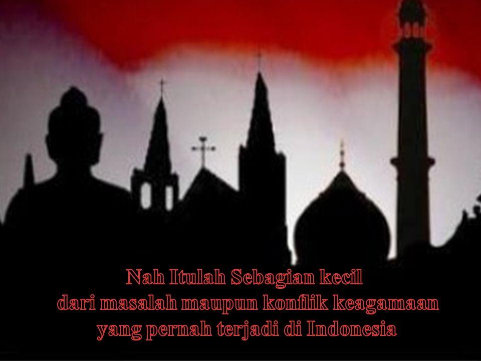 Contoh Contoh Gambar Konflik dan Masalah Keagamaan