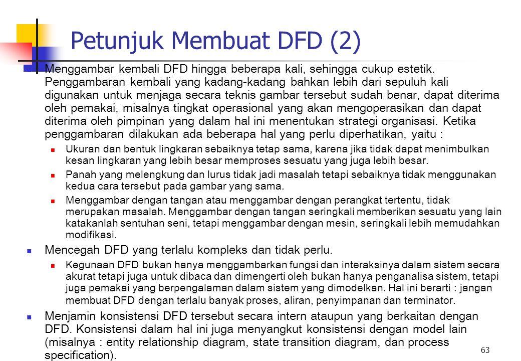 Petunjuk Membuat DFD (2)
