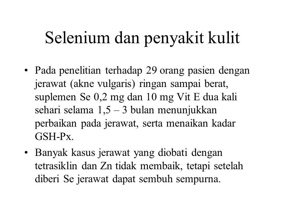 Selenium dan penyakit kulit