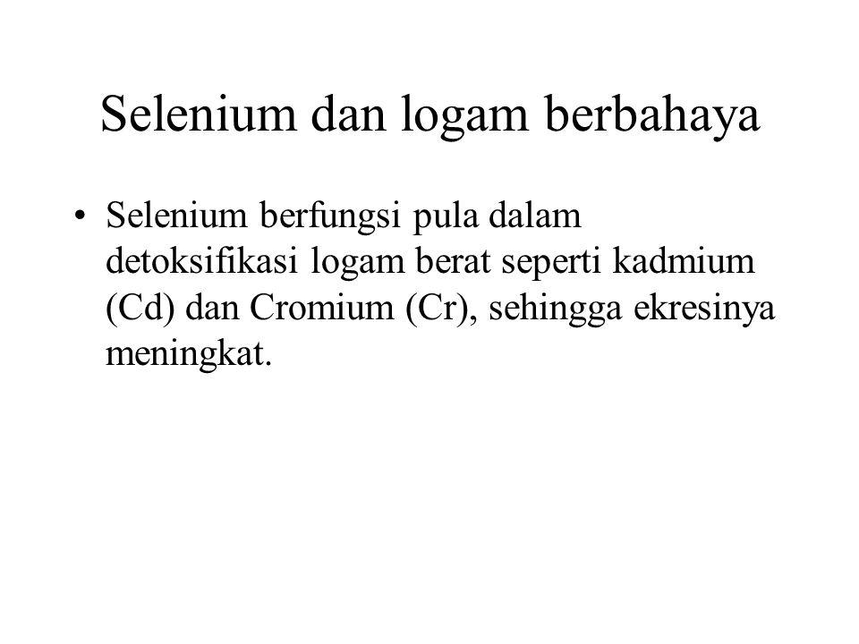 Selenium dan logam berbahaya
