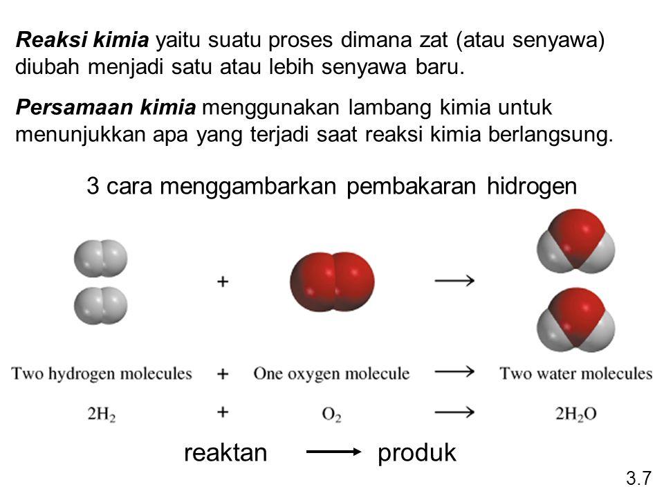 3 cara menggambarkan pembakaran hidrogen