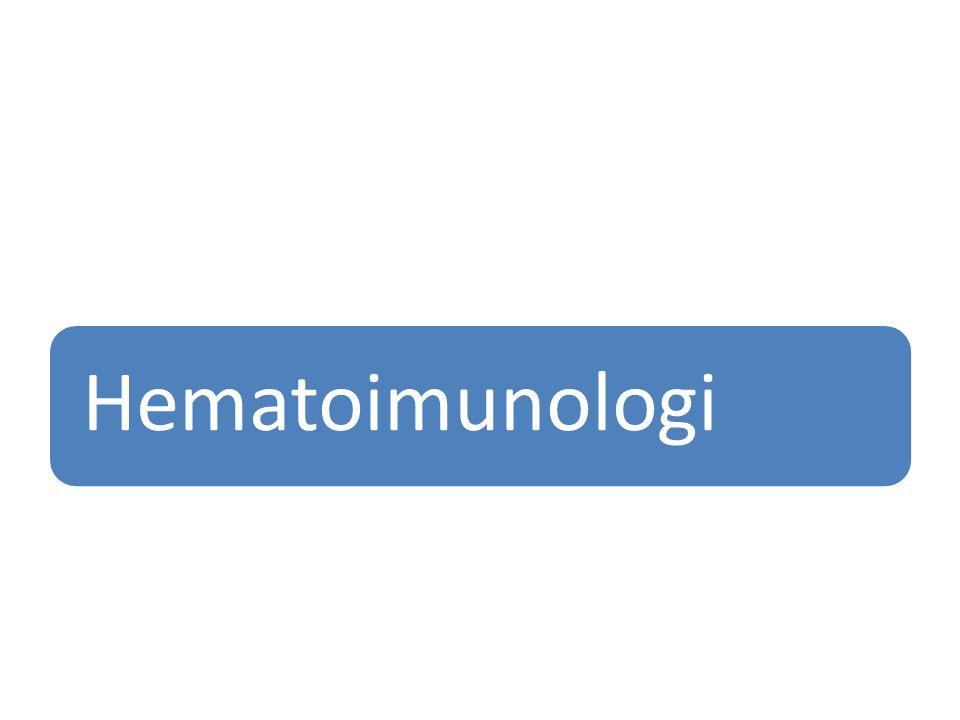 Hematoimunologi