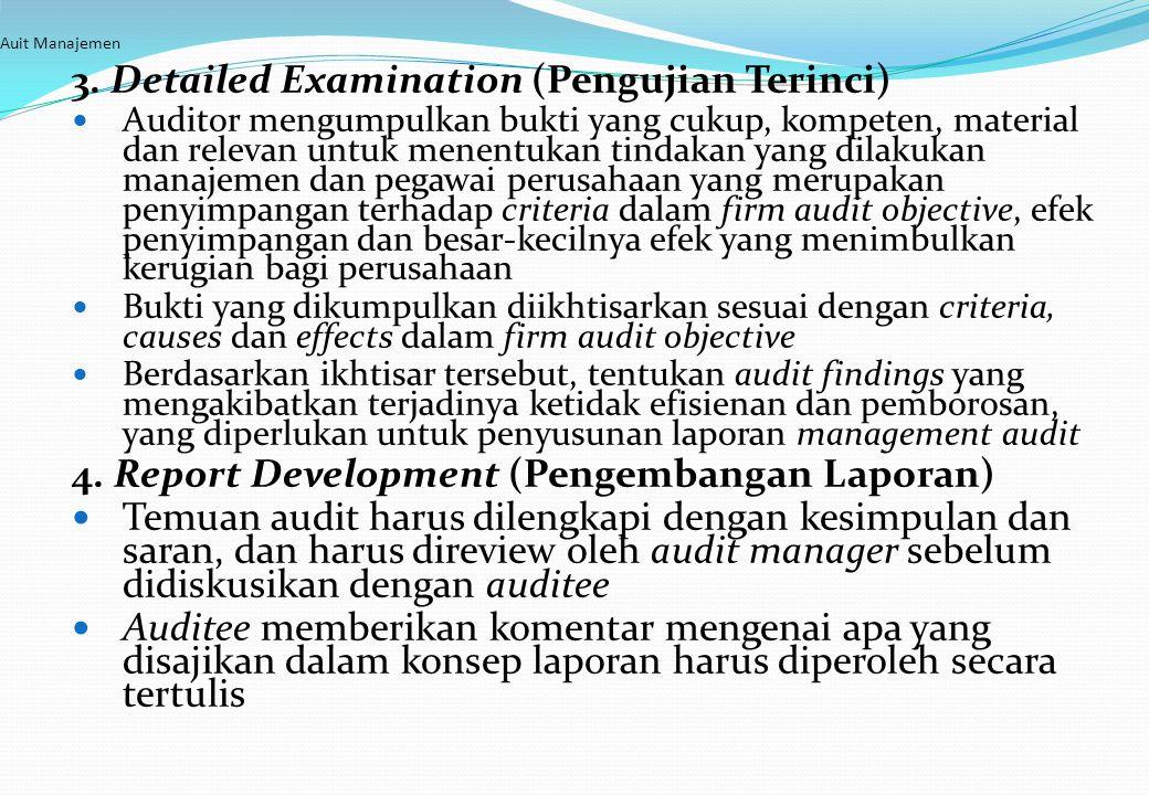 4. Report Development (Pengembangan Laporan)