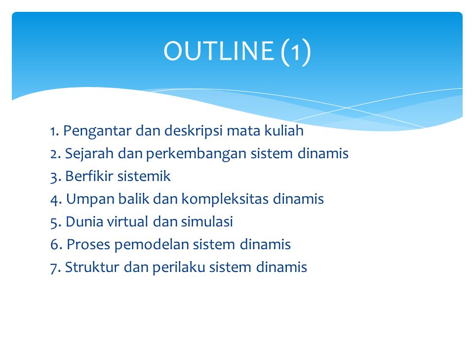 OUTLINE (1)