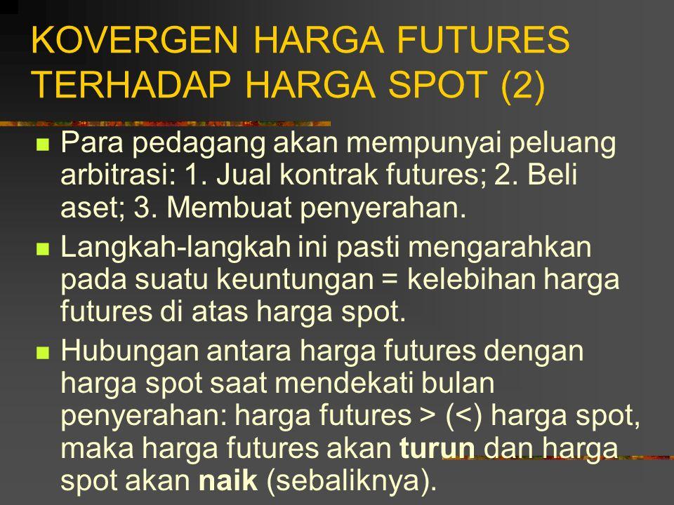 KOVERGEN HARGA FUTURES TERHADAP HARGA SPOT (2)