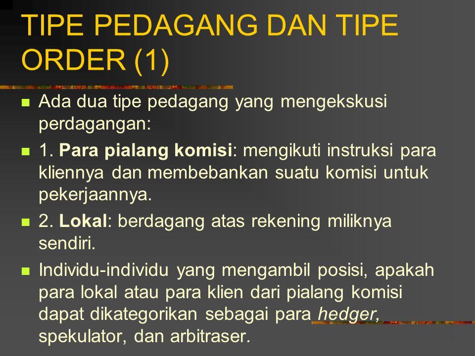 TIPE PEDAGANG DAN TIPE ORDER (1)