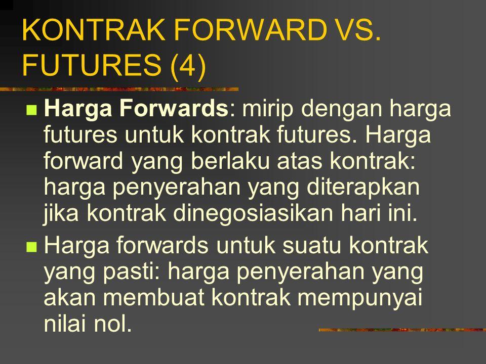 KONTRAK FORWARD VS. FUTURES (4)