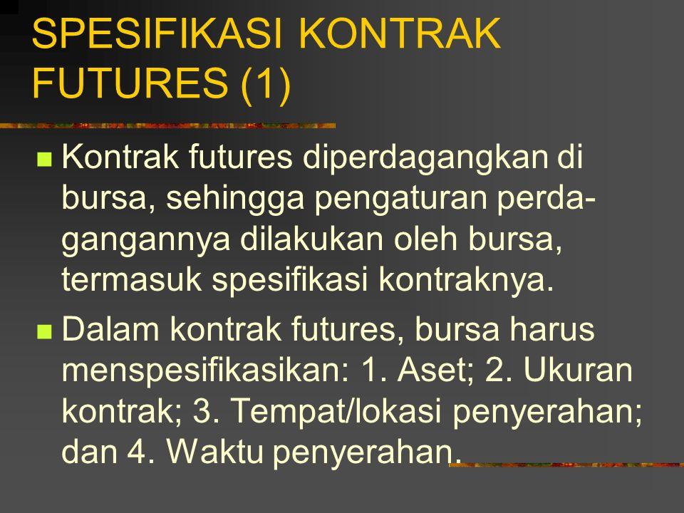 SPESIFIKASI KONTRAK FUTURES (1)