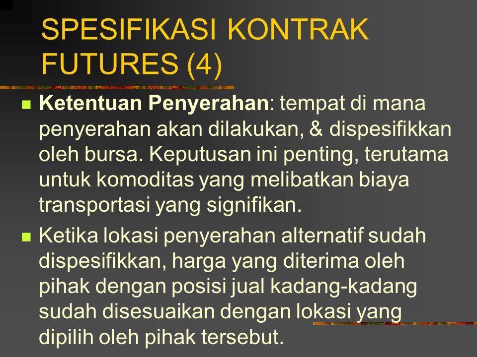SPESIFIKASI KONTRAK FUTURES (4)