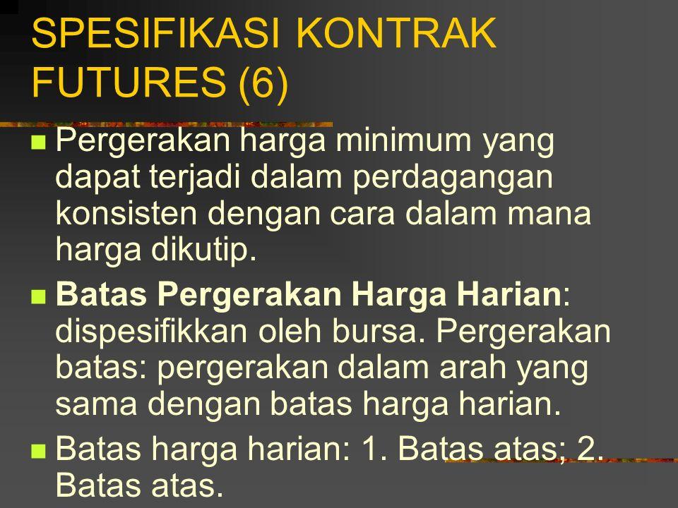 SPESIFIKASI KONTRAK FUTURES (6)