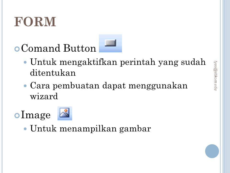 FORM Comand Button Image