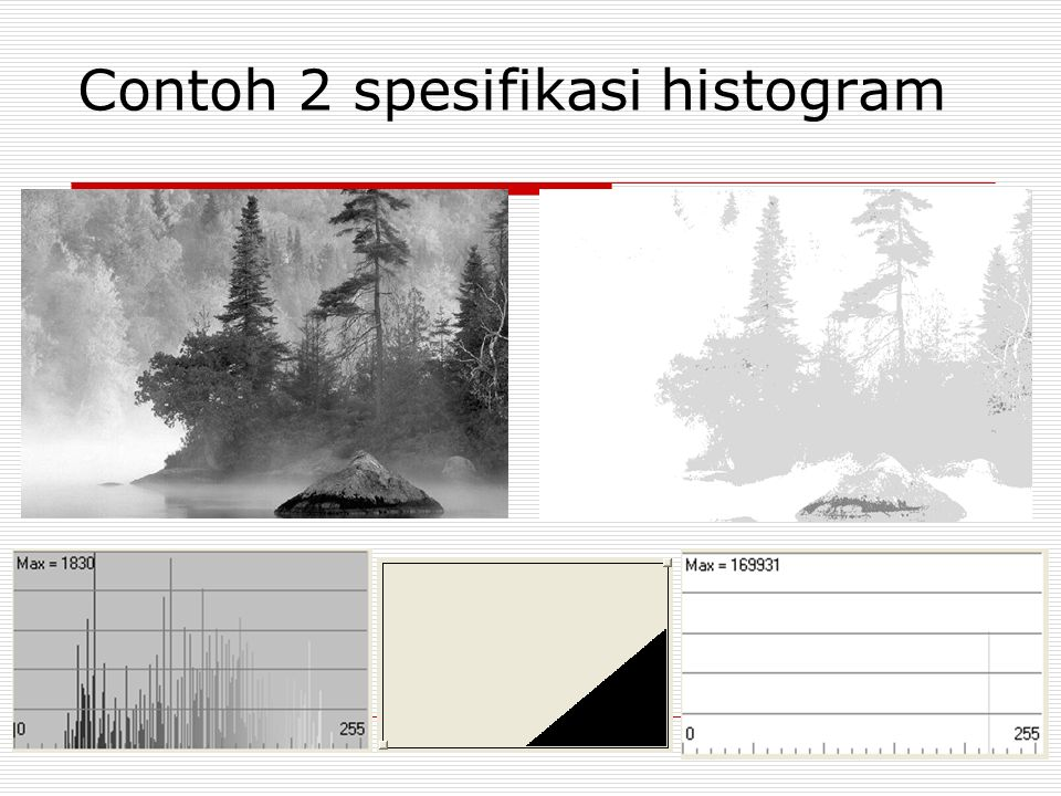 Contoh 2 spesifikasi histogram