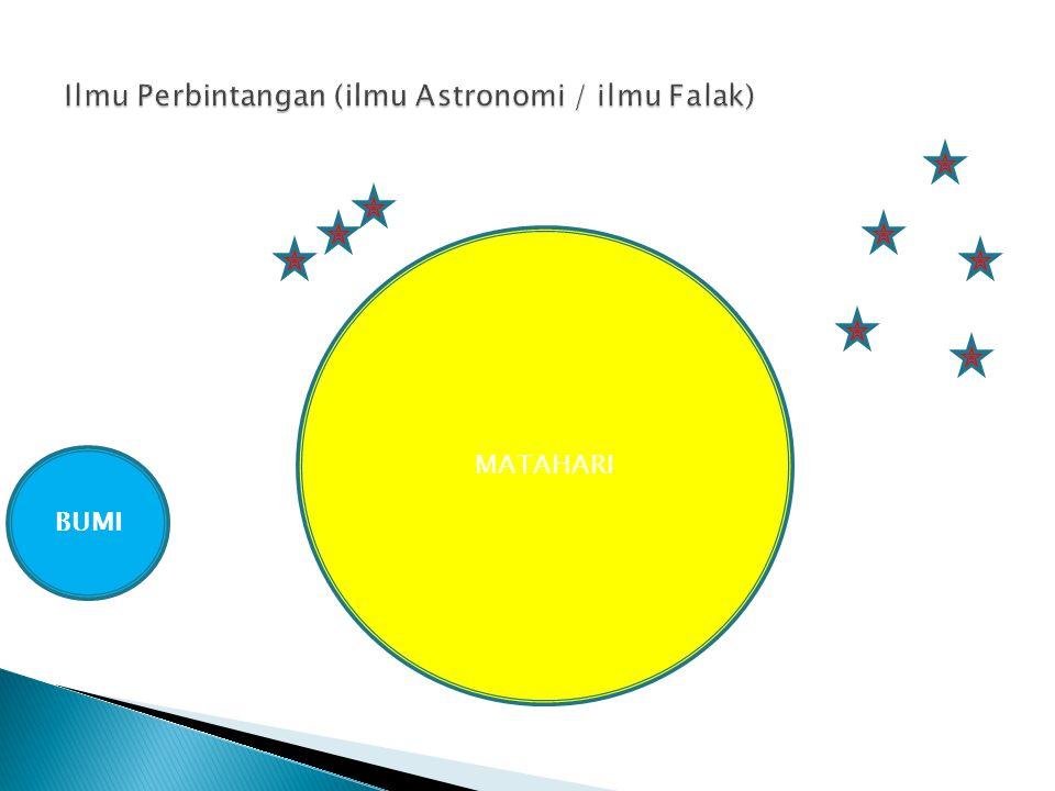 Ilmu Perbintangan (ilmu Astronomi / ilmu Falak)