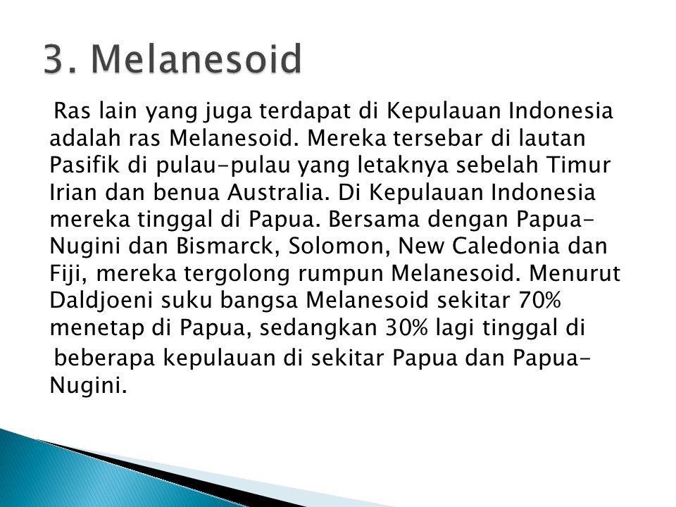 3. Melanesoid