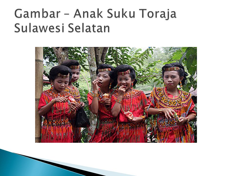 Gambar – Anak Suku Toraja Sulawesi Selatan