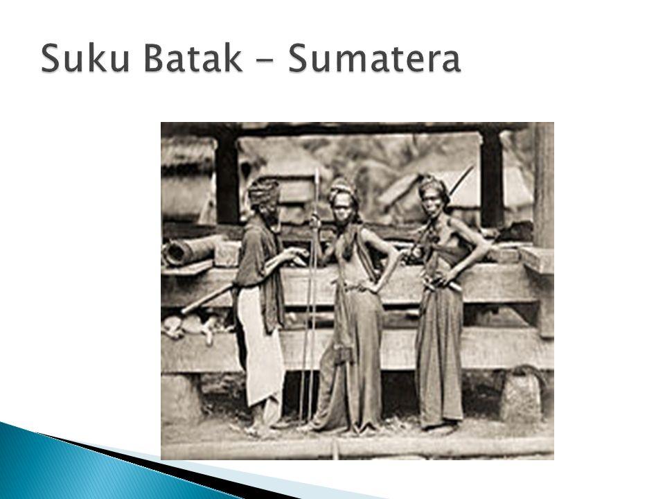 Suku Batak - Sumatera