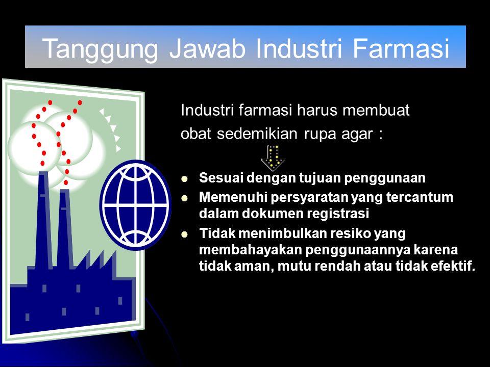 Tanggung Jawab Industri Farmasi