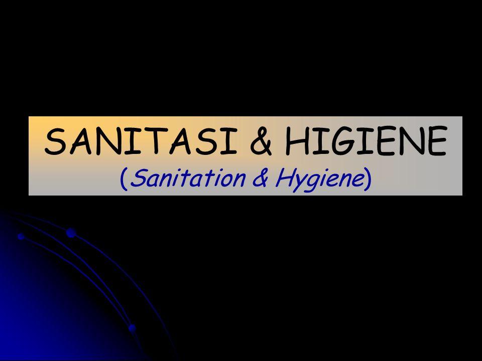 SANITASI & HIGIENE (Sanitation & Hygiene)