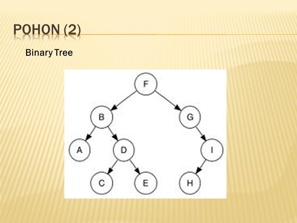 pohon (2) Binary Tree