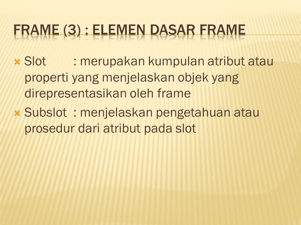 Frame (3) : Elemen Dasar Frame