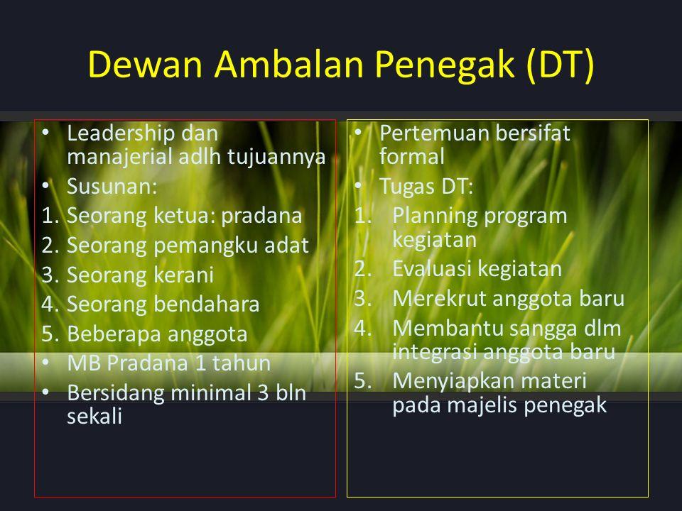 Dewan Ambalan Penegak (DT)