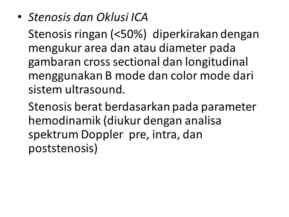 Stenosis dan Oklusi ICA