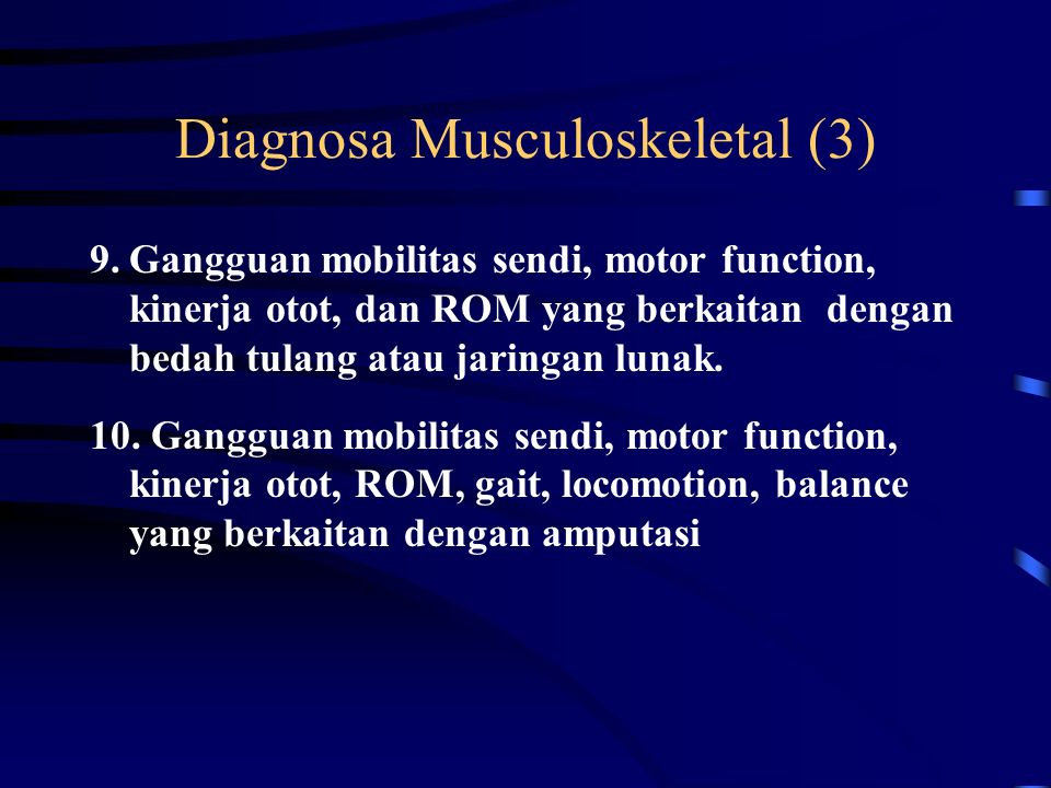 Diagnosa Musculoskeletal (3)