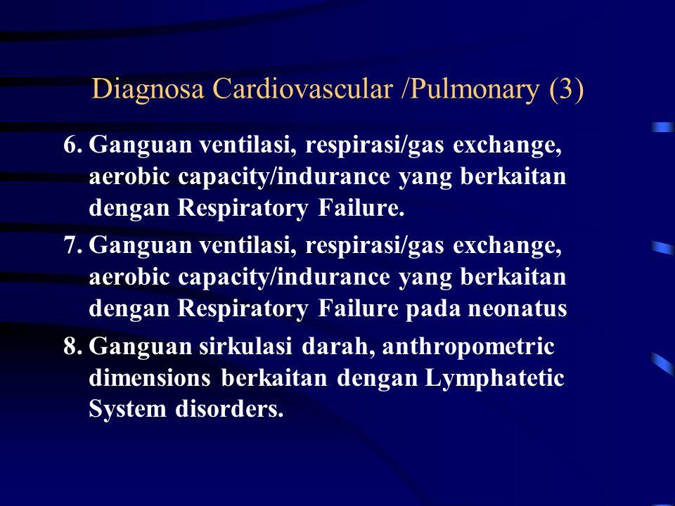 Diagnosa Cardiovascular /Pulmonary (3)