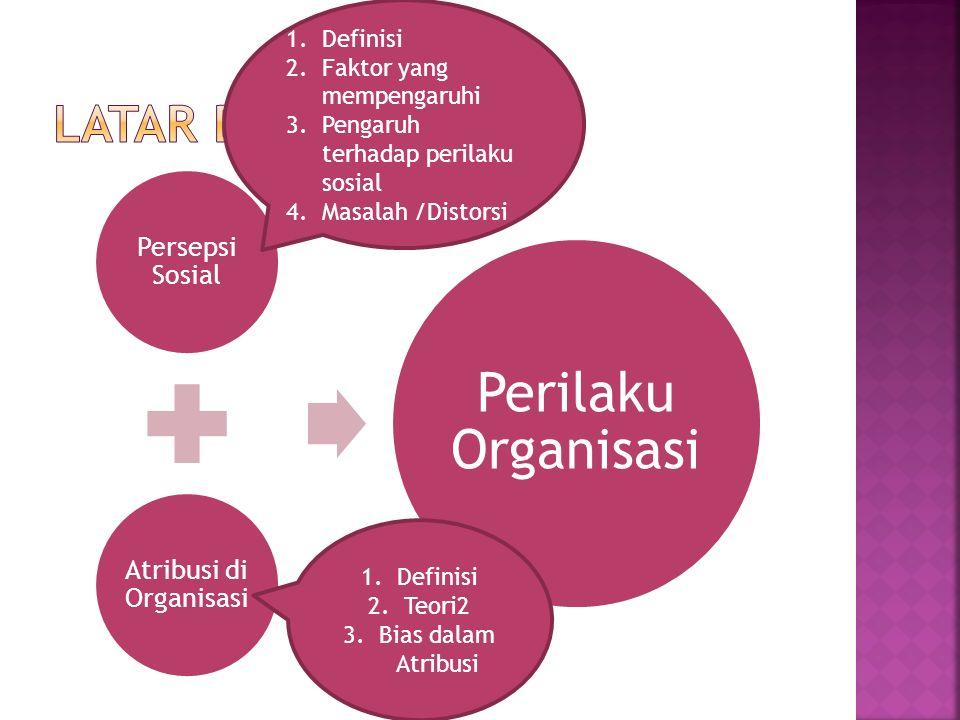 Atribusi di Organisasi
