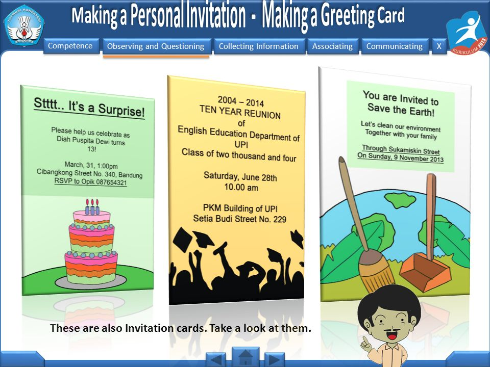 These are also Invitation cards. Take a look at them.