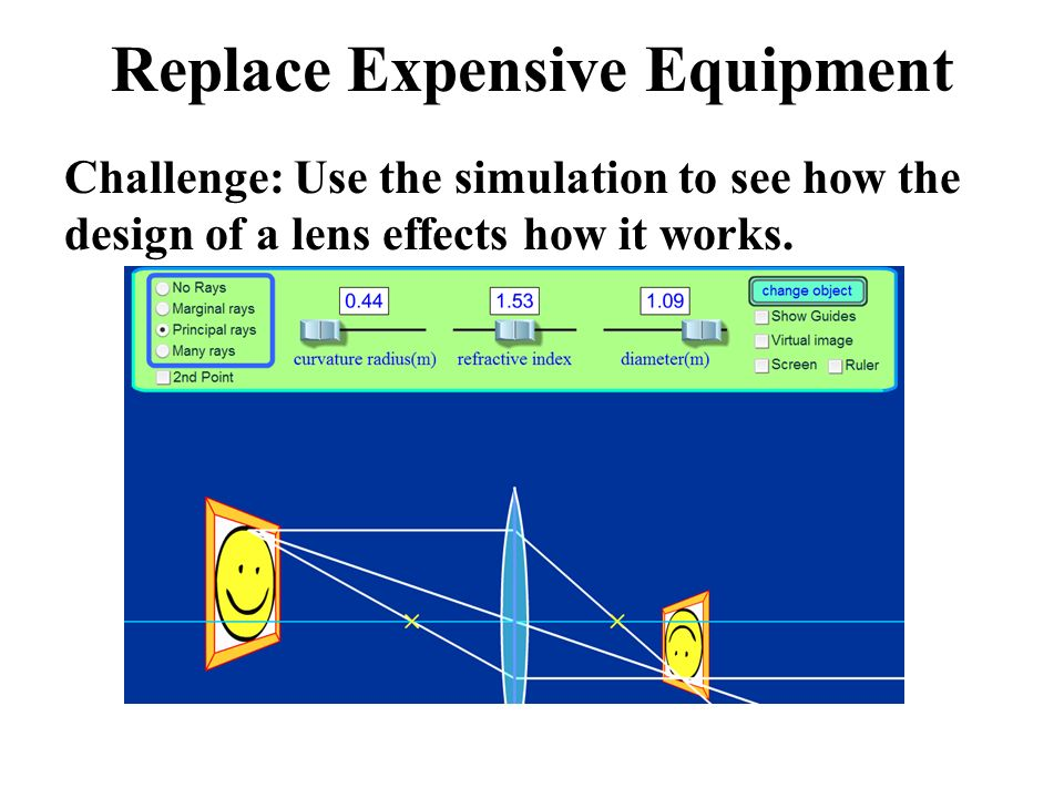 Replace Expensive Equipment
