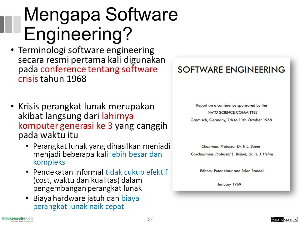 Mengapa Software Engineering