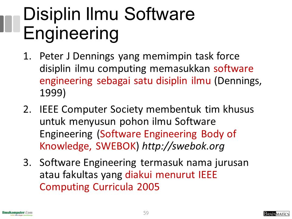 Disiplin Ilmu Software Engineering
