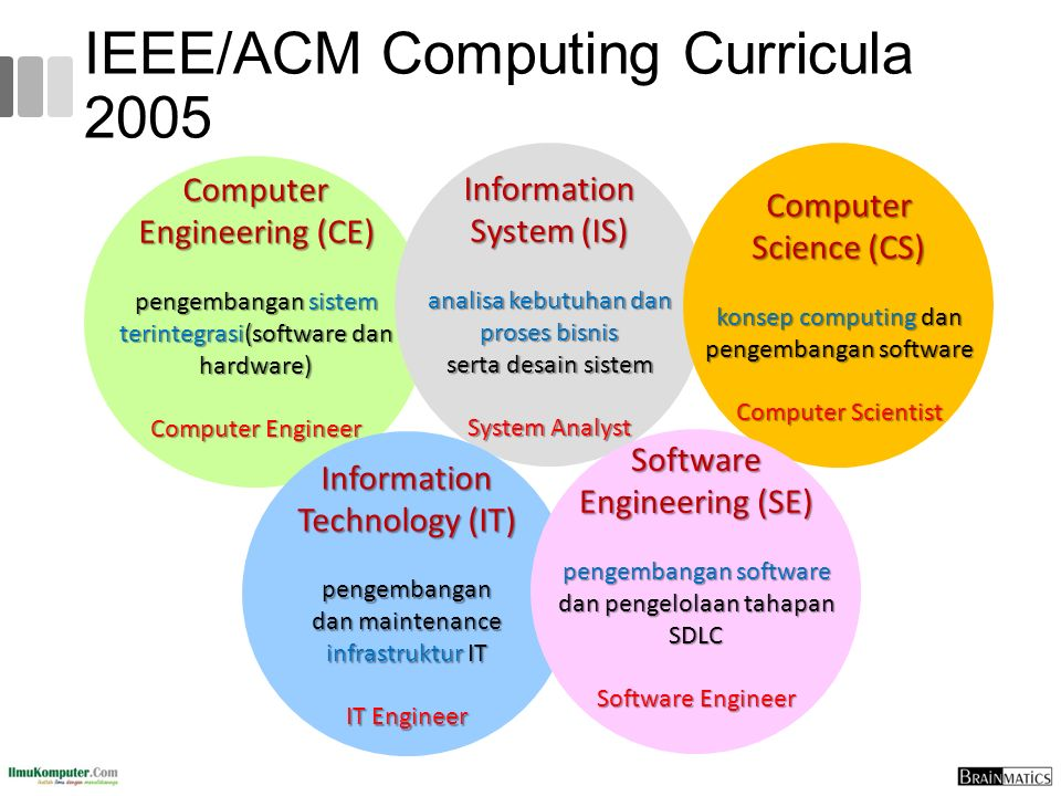 IEEE/ACM Computing Curricula 2005