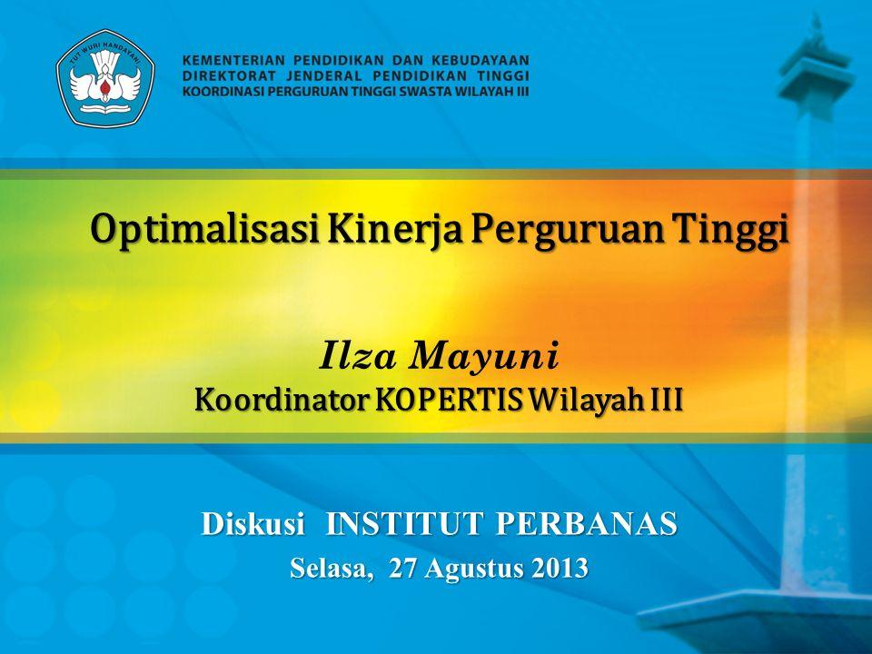 Diskusi INSTITUT PERBANAS Selasa, 27 Agustus 2013
