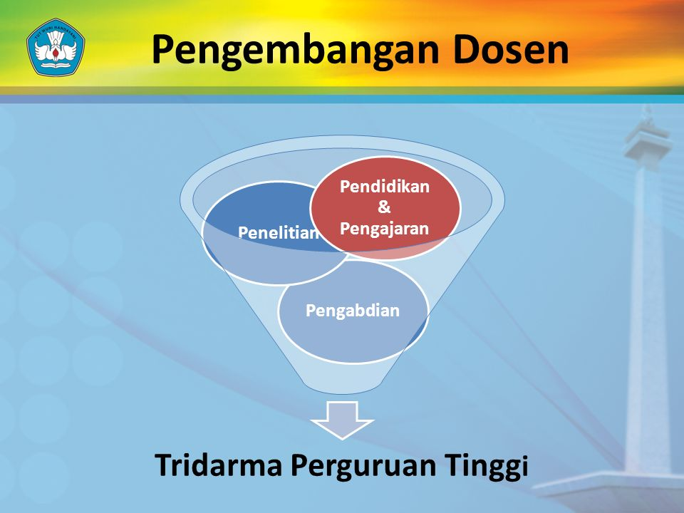 Tridarma Perguruan Tinggi Pendidikan & Pengajaran