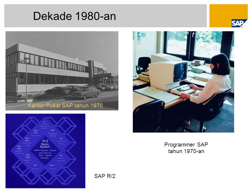 Programmer SAP tahun 1970-an