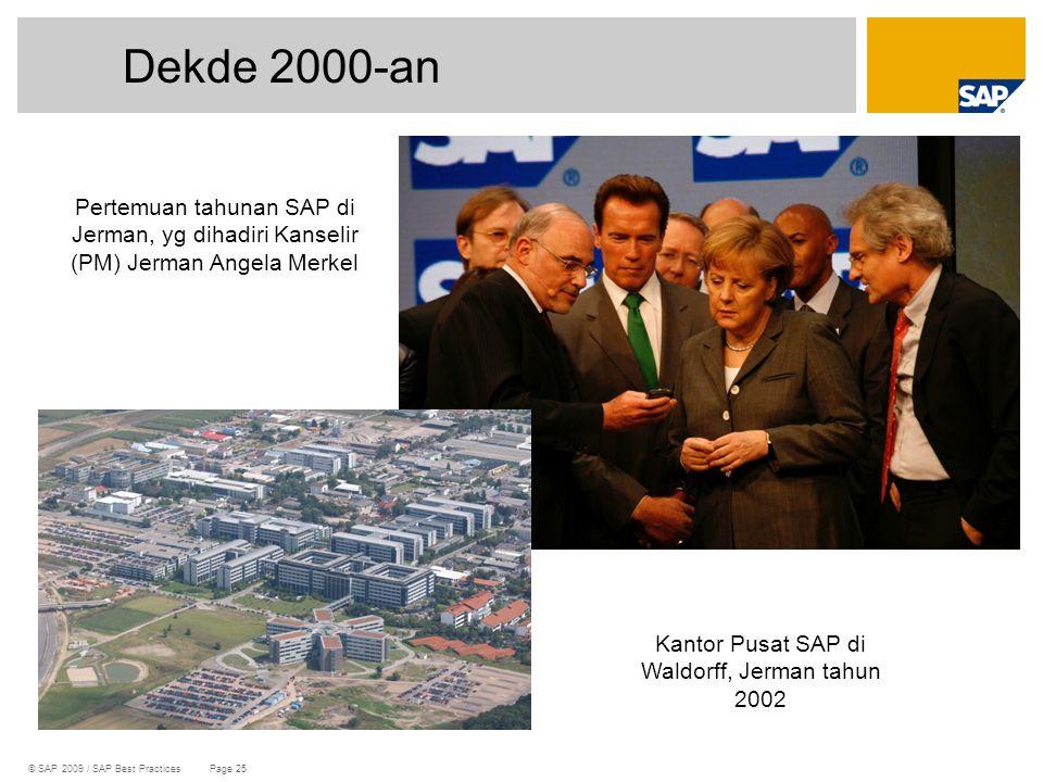 Kantor Pusat SAP di Waldorff, Jerman tahun 2002