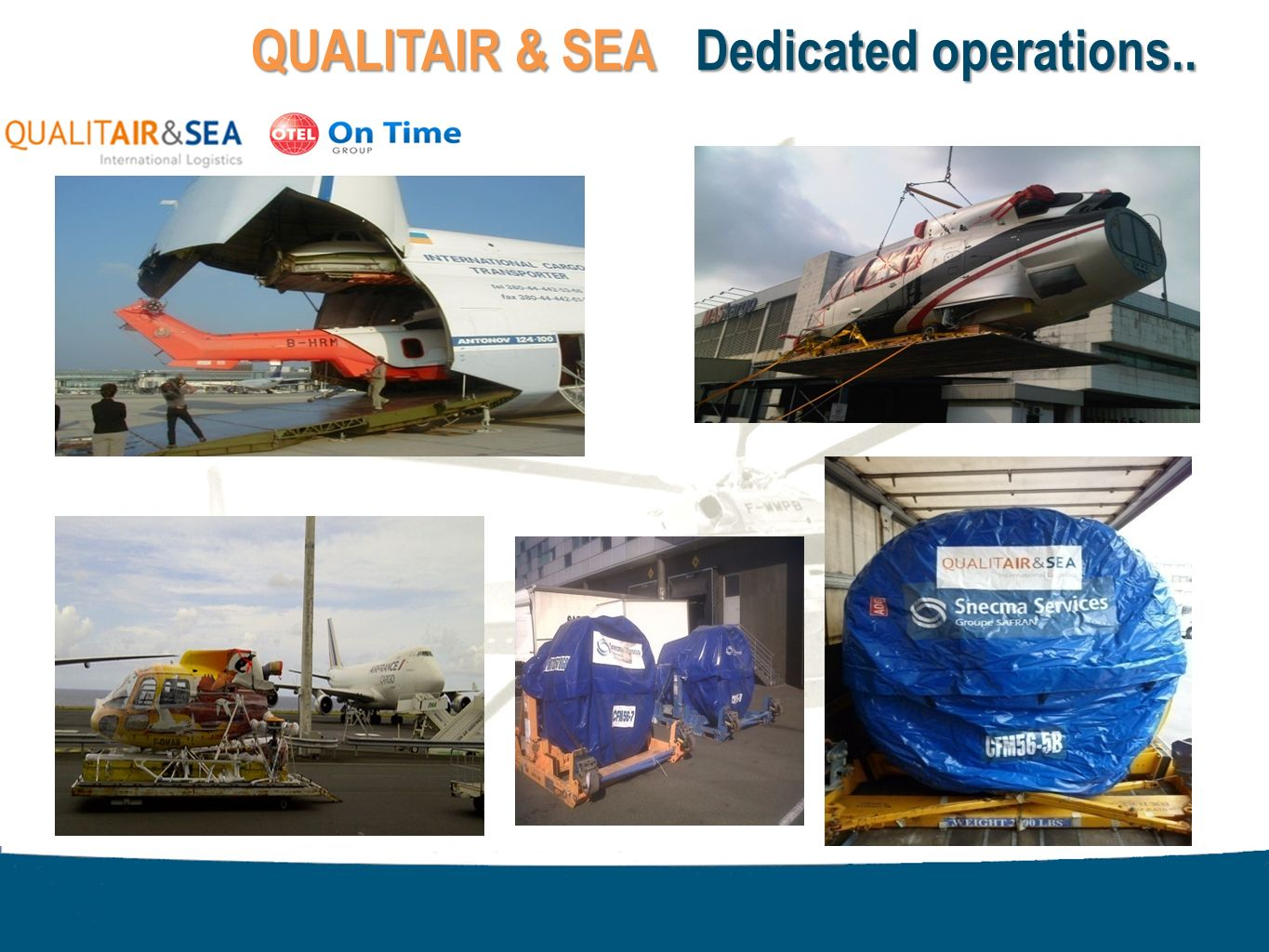 QUALITAIR & SEA Dedicated operations..